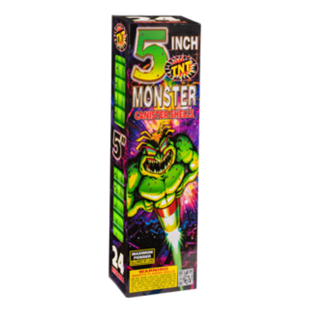 "Monster 5"" Canister Shells"