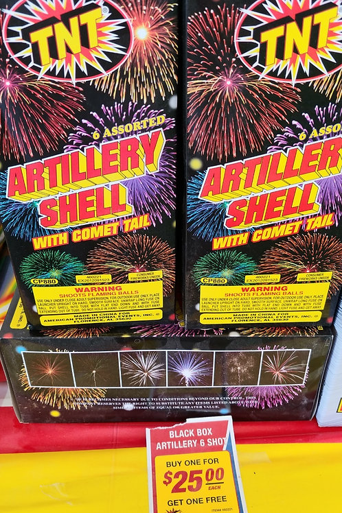 Artillery Shell with Comet Tail - BOGO