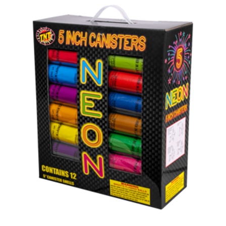 "TNT 5"" Neon Canister"