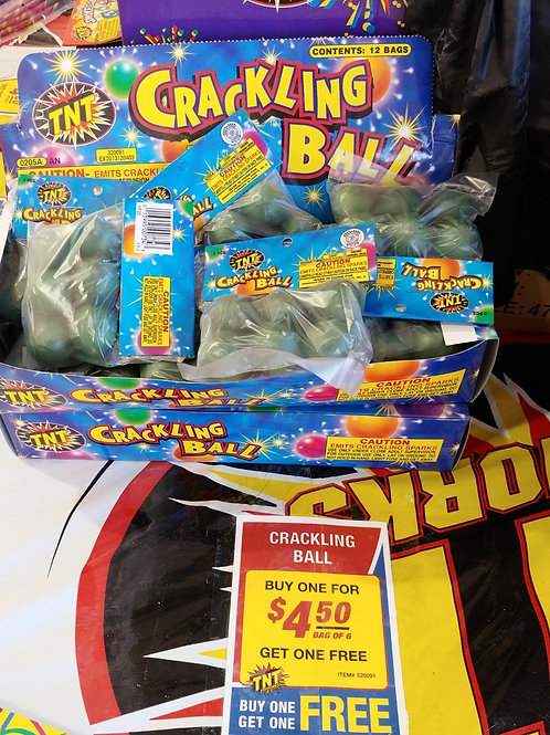 Crackling Ball - BOGO