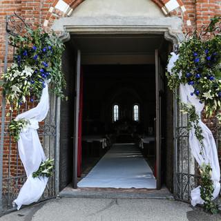 """Wedding Day  @Chiesa di San Lorenzo in Monluè Una cornice perfetta dove scambiarsi il fatidico """"SI""""."""