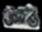 motocykl wyścigowy Kawasaki Ninja H2 salon Kawasaki