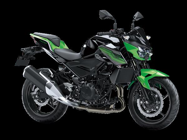 Kawasaki Z400 model 2020
