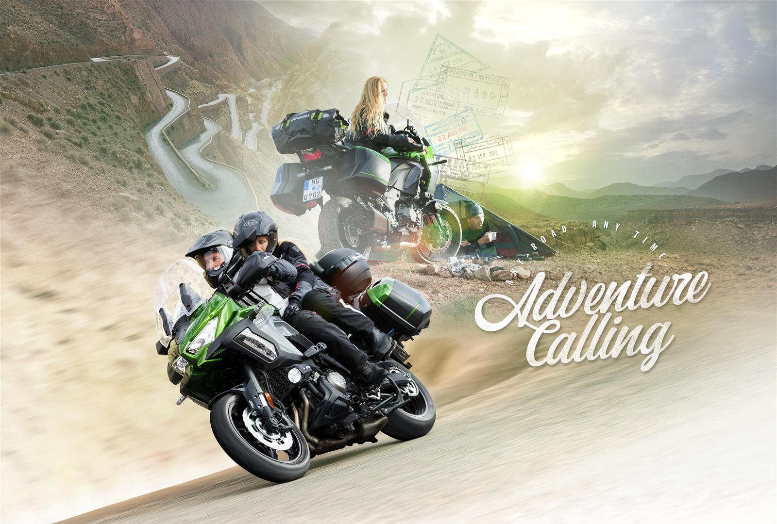 Nowy Kawasaki Versys 1000 model 2020