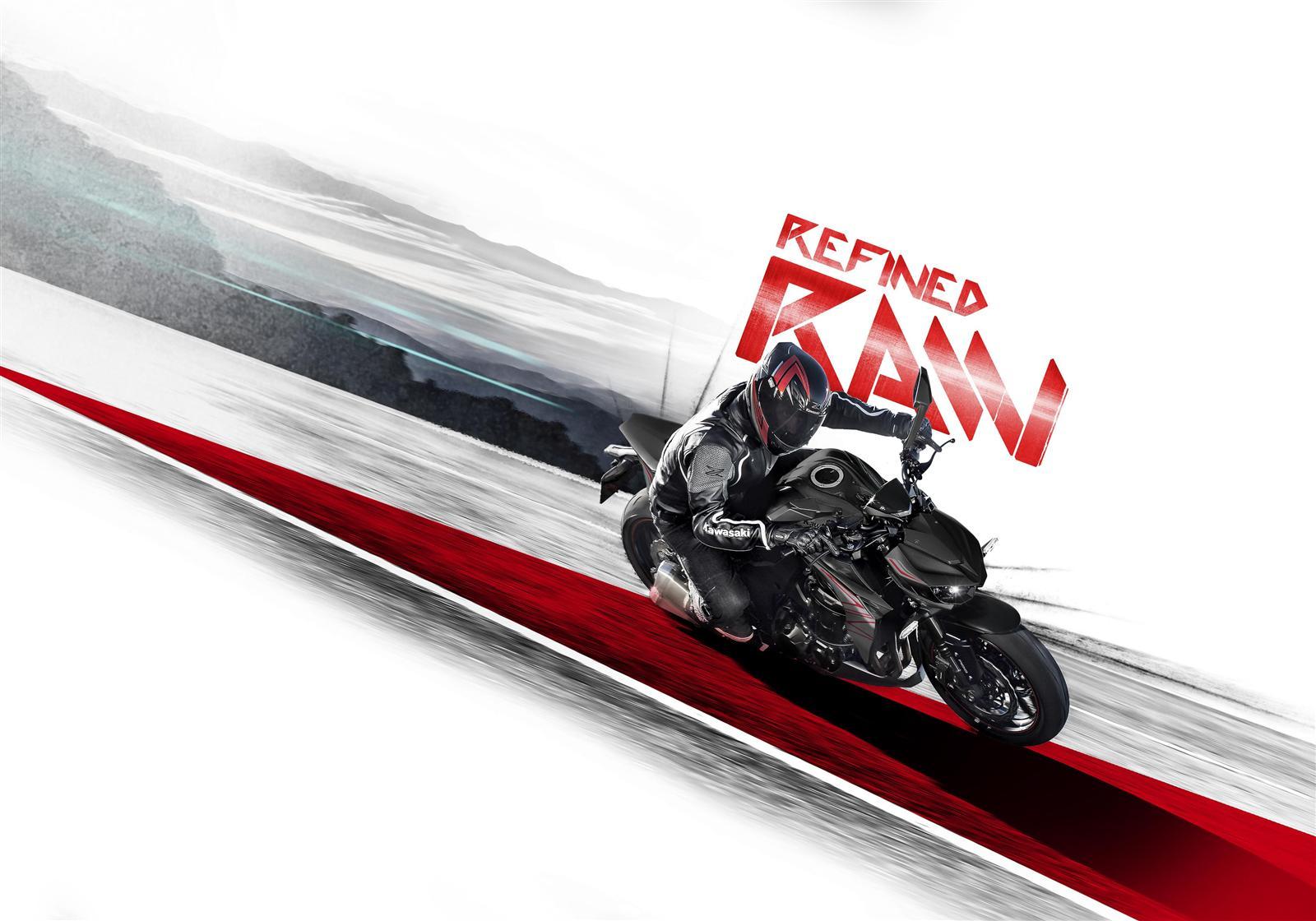 Kawasaki Z1000 2019 promo