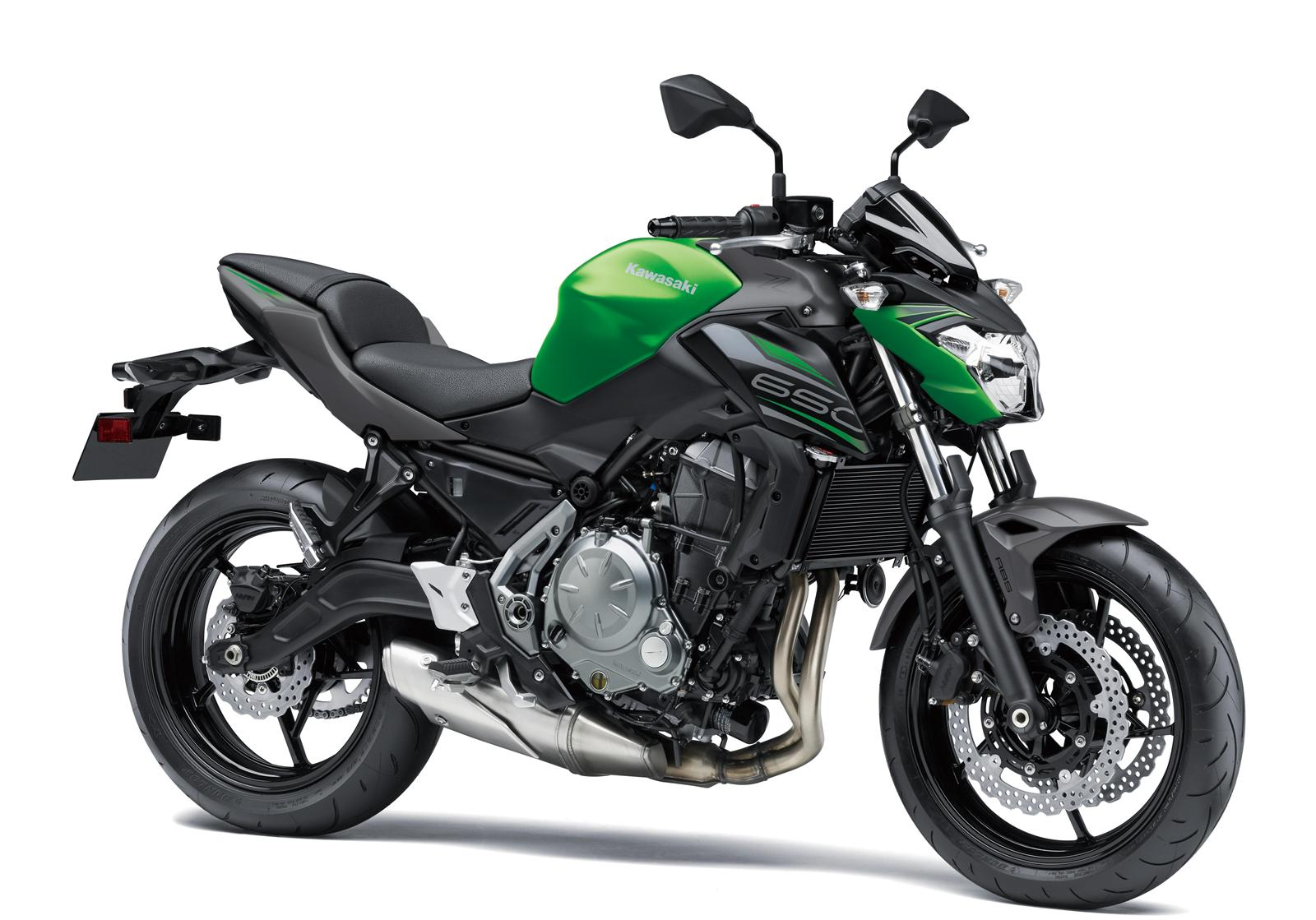 Kawasaki Z650 zielony