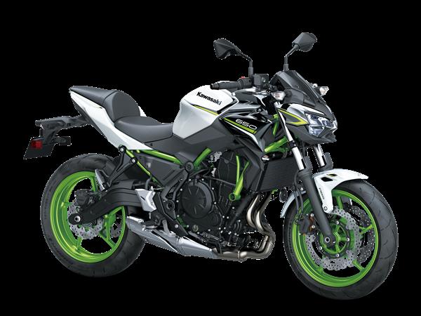 Kawasaki Z650 model 2021