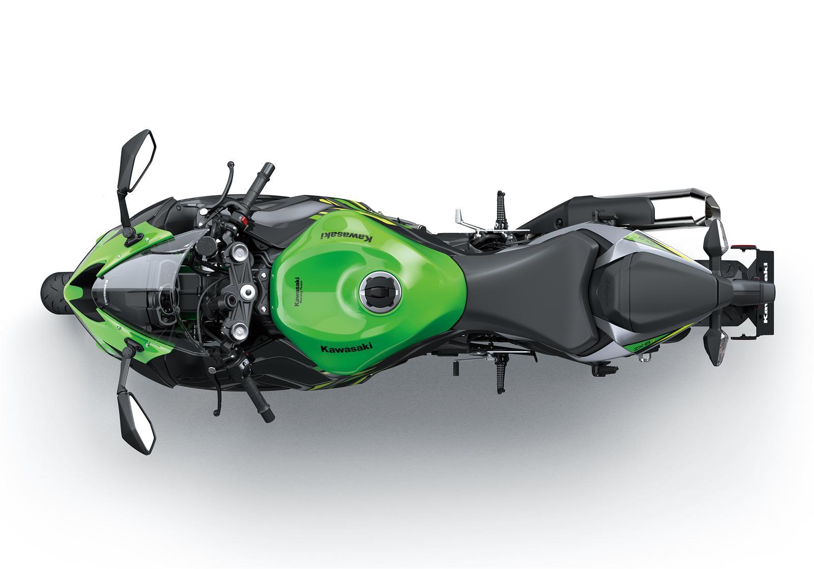 Kawasaki Ninja ZX-6R KRT z góry