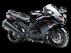 motocykl sport tourer Kawasak ZZR1400 salon Kawasaki