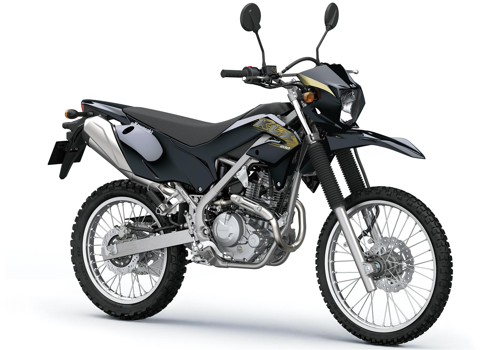 Kawasaki KLX230 malowanie 2020 front