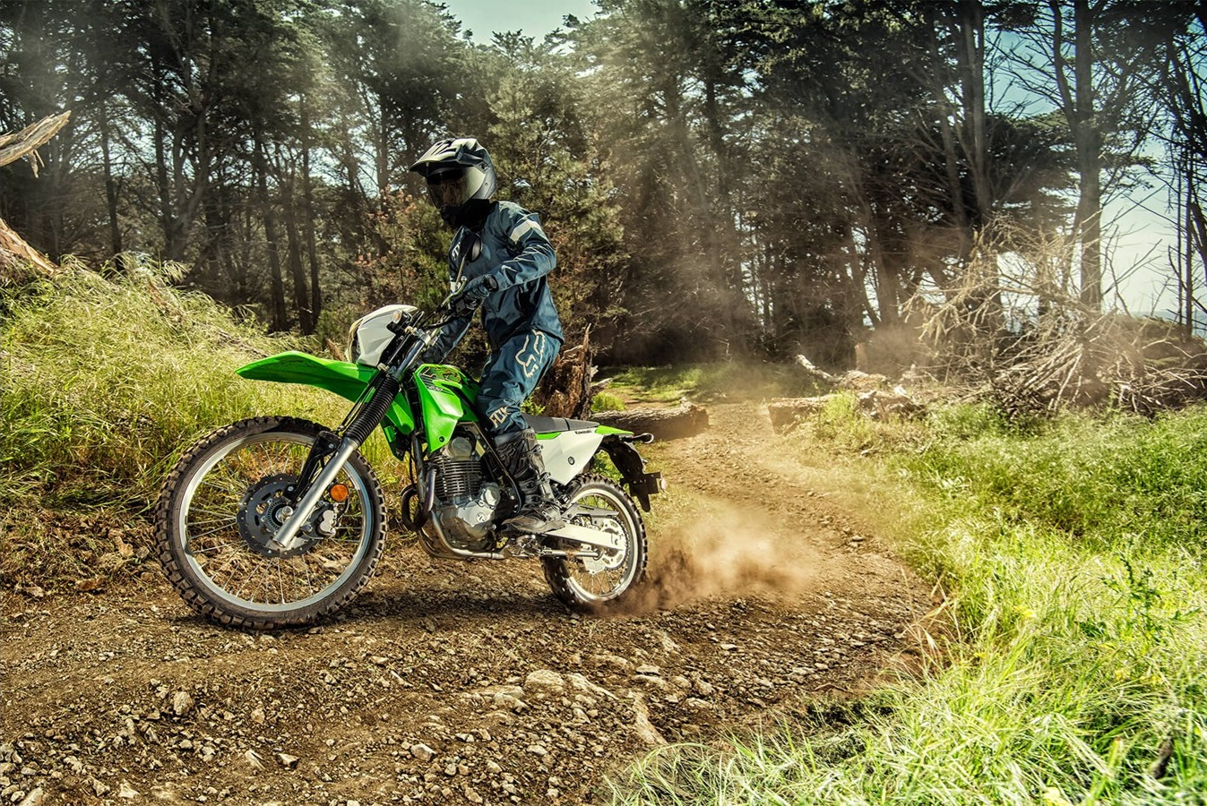 Kawasaki KLX230 2020 w akcji