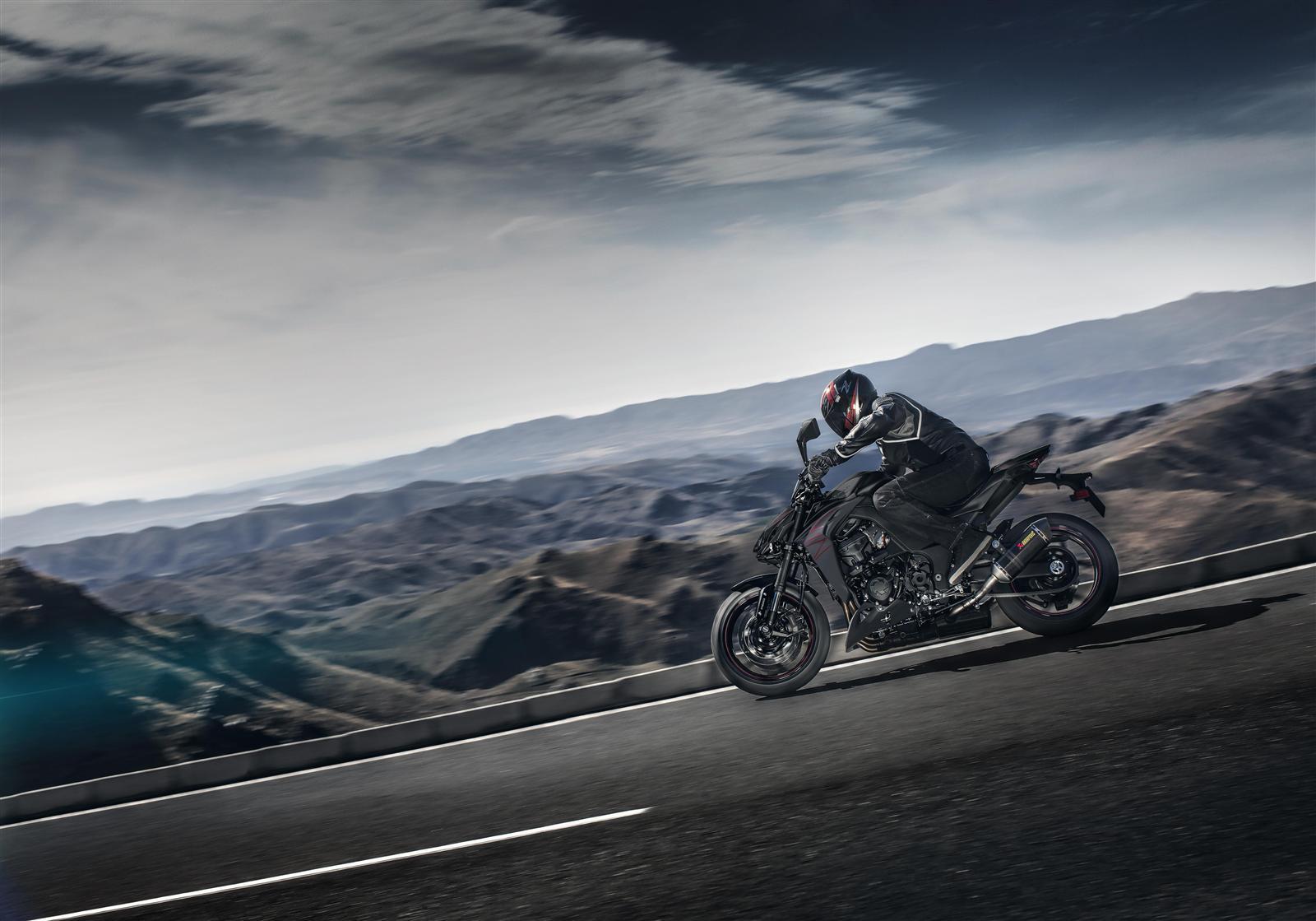 Kawasaki Z1000 2019 agresywny
