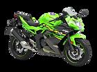 motocykl sportowy Kawasaki Ninja 125 salon Kawasaki