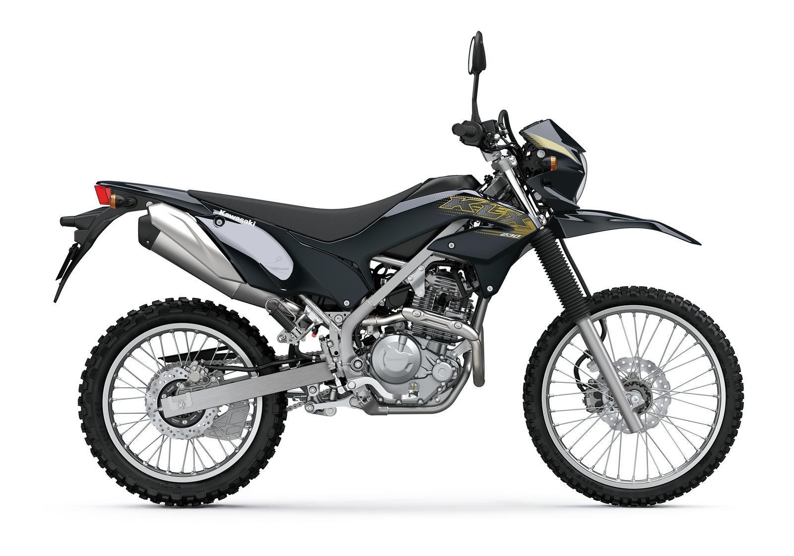 Kawasaki KLX230 malowanie 2020 prawa