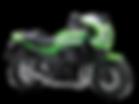 motocykl retro Kawasaki Z900RS Cafe salon Kawasaki