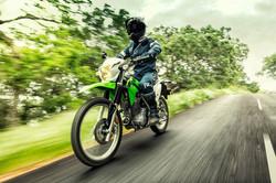 Kawasaki KLX230 w akcji
