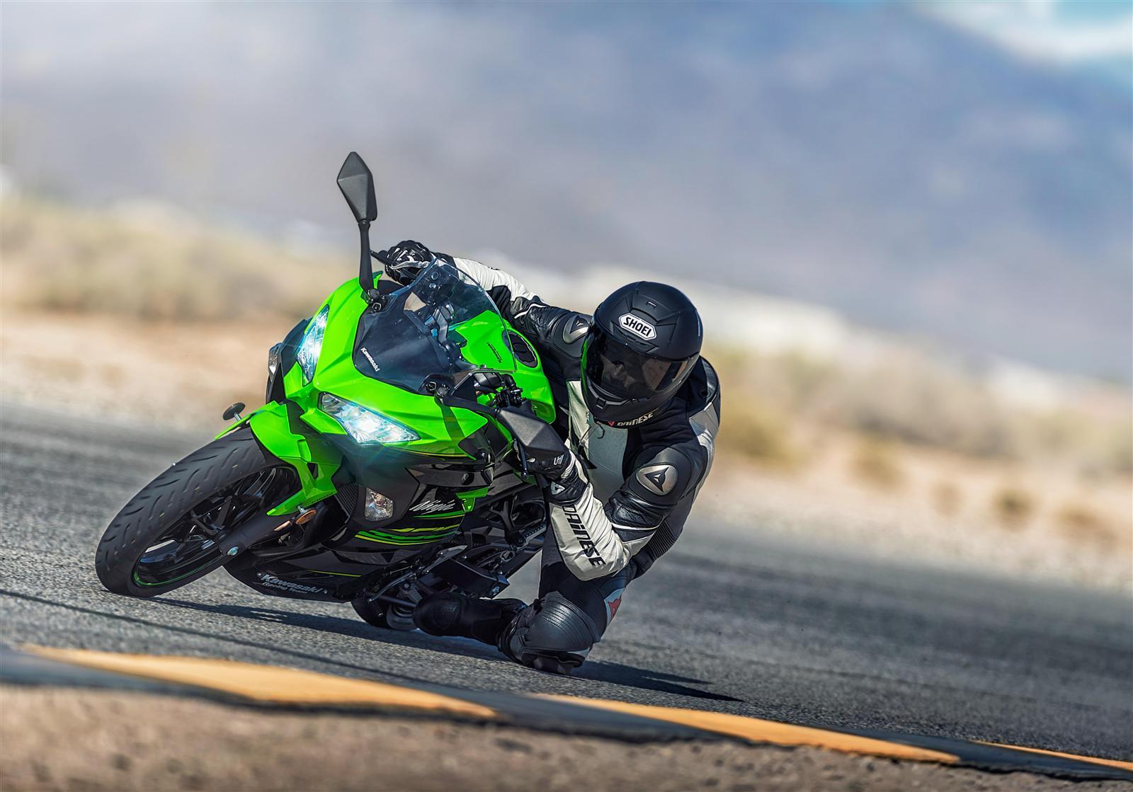 Kawasaki Ninja 400 wyścigowy