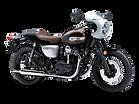 motocykl retro Kawasaki W800 Cafe salon Kawasaki