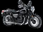 motocykl retro Kawasaki W800 Street salon Kawasaki
