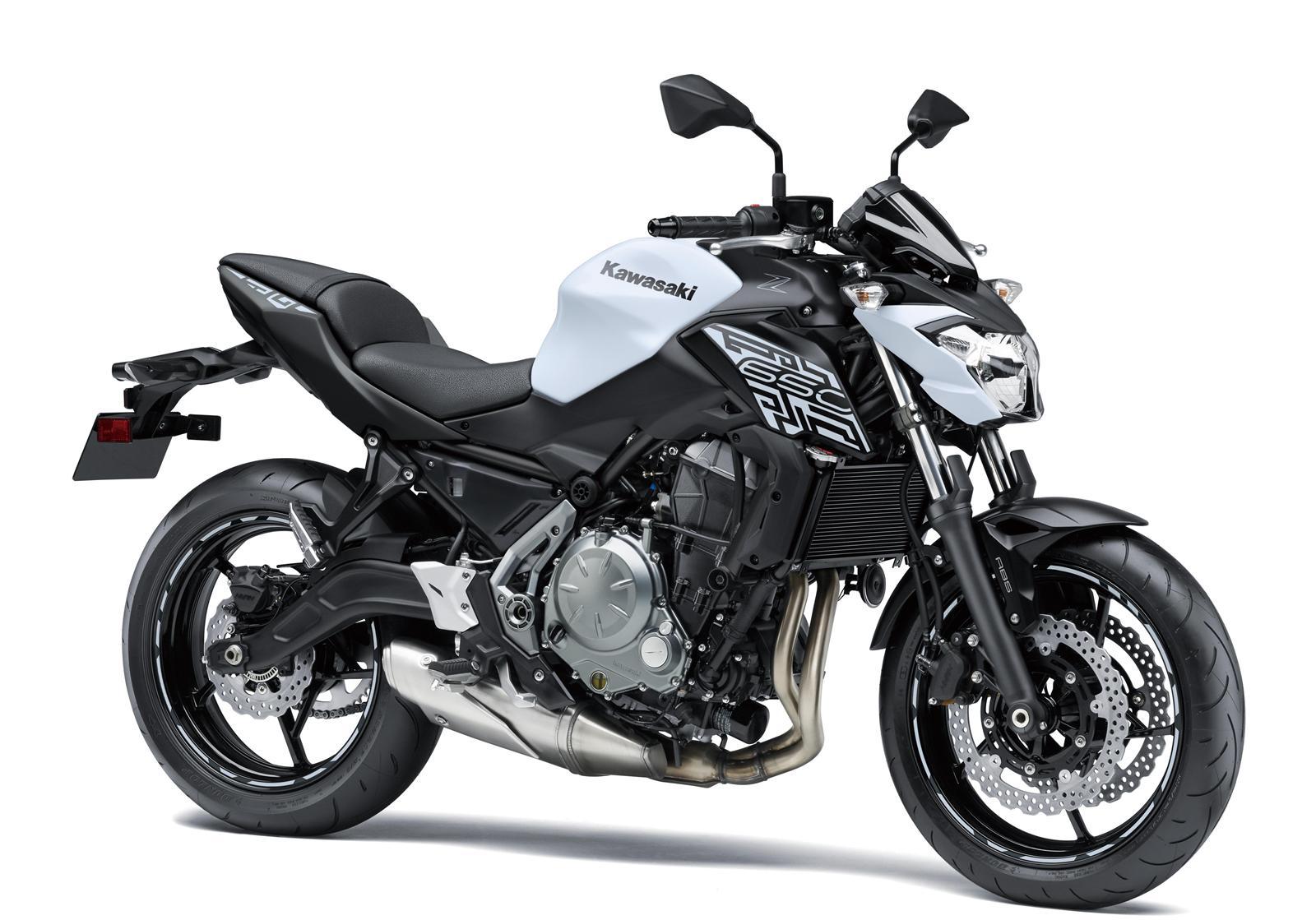 Kawasaki Z650 biały