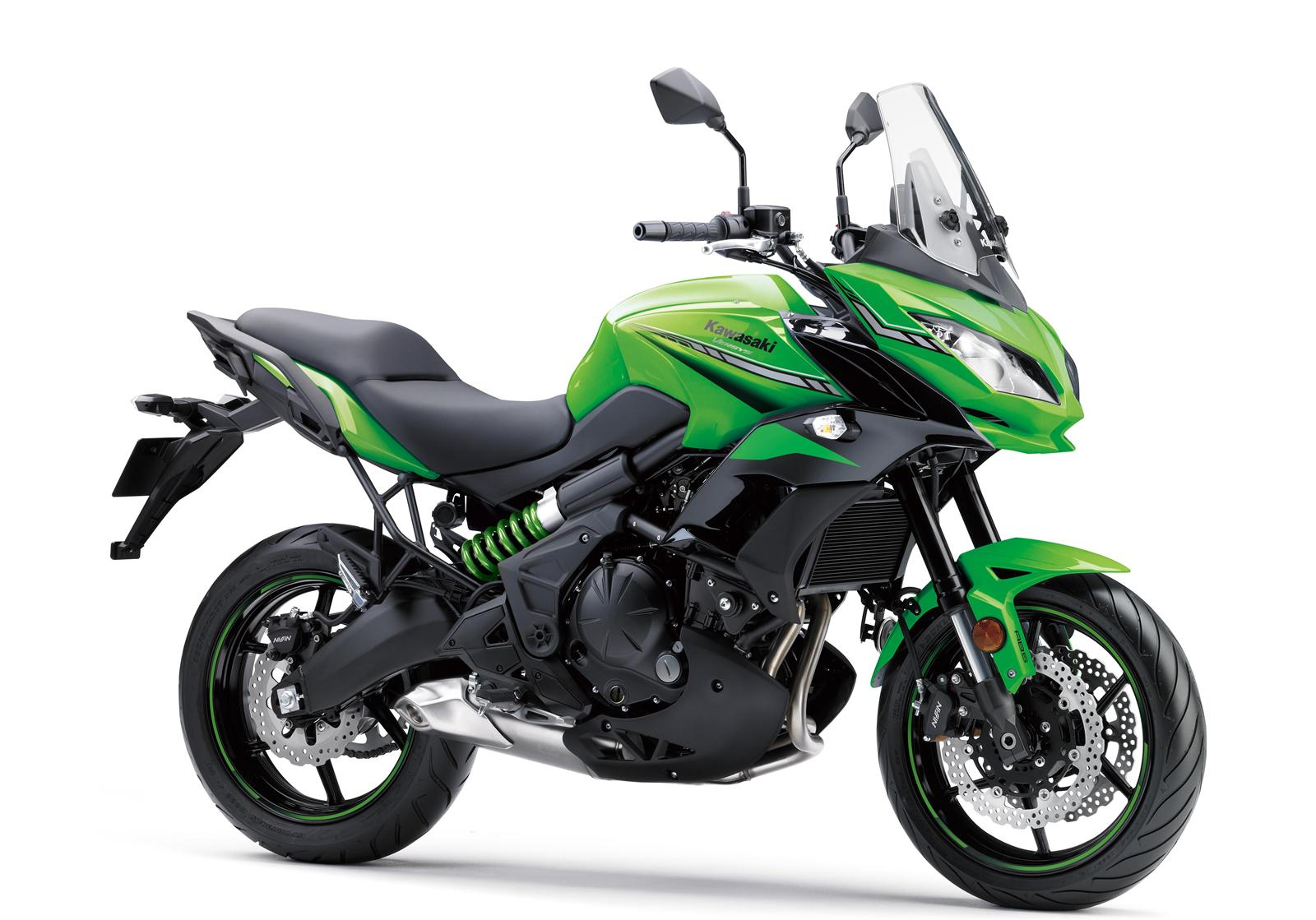 Kawasaki Versys 650 zielony