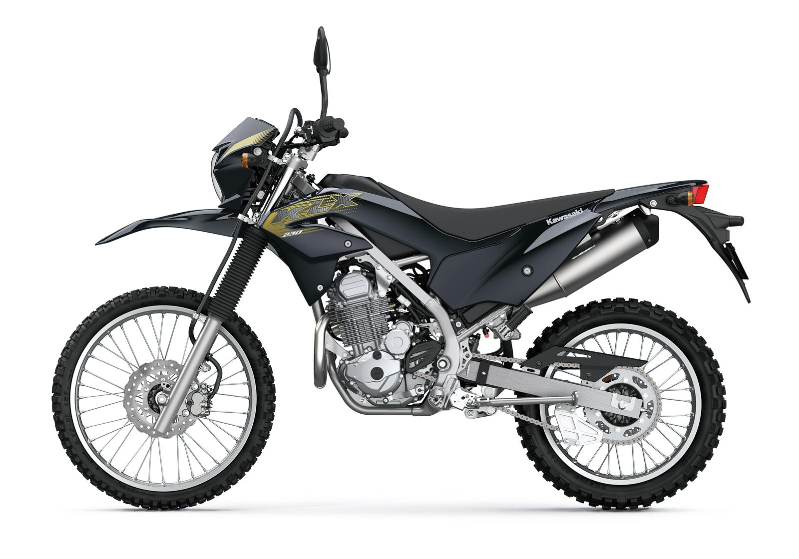 Kawasaki KLX230 malowanie 2020 lewa