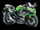 motocykl sportowy Kawasaki Ninja 400 salon Kawasaki
