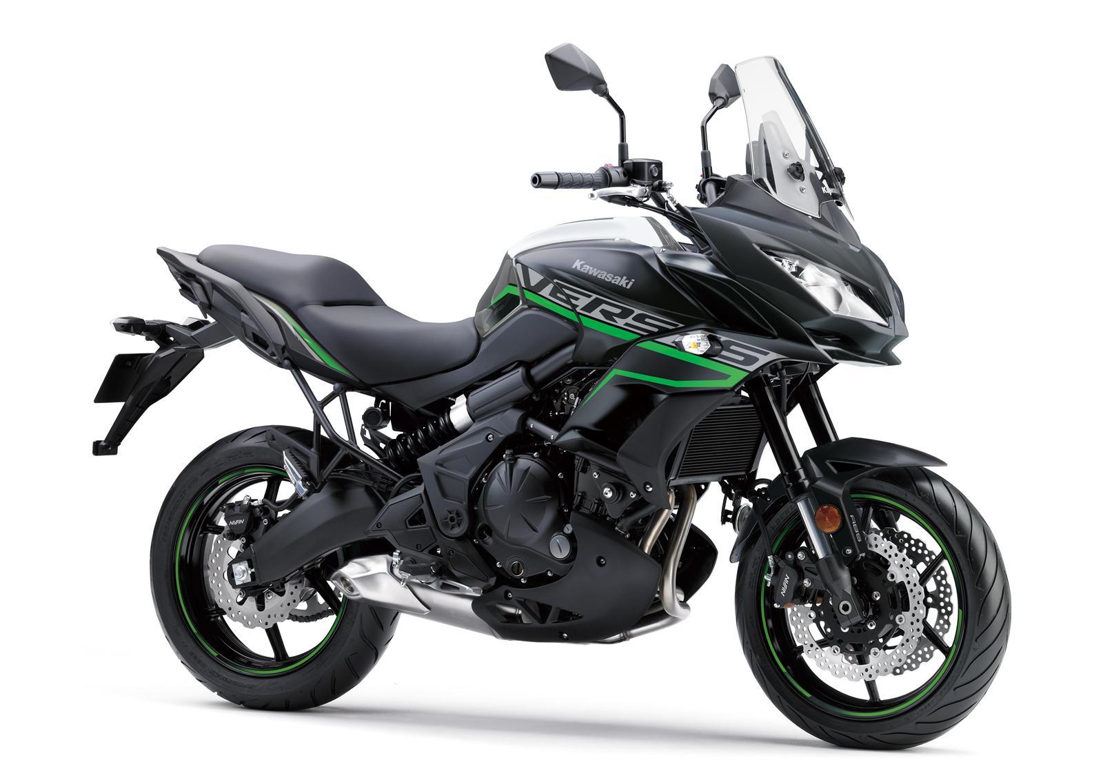 Kawasaki Versys 650 czarny