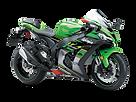 motocykl wyścigowy Kawasaki Ninja ZX-10R salon Kawasaki