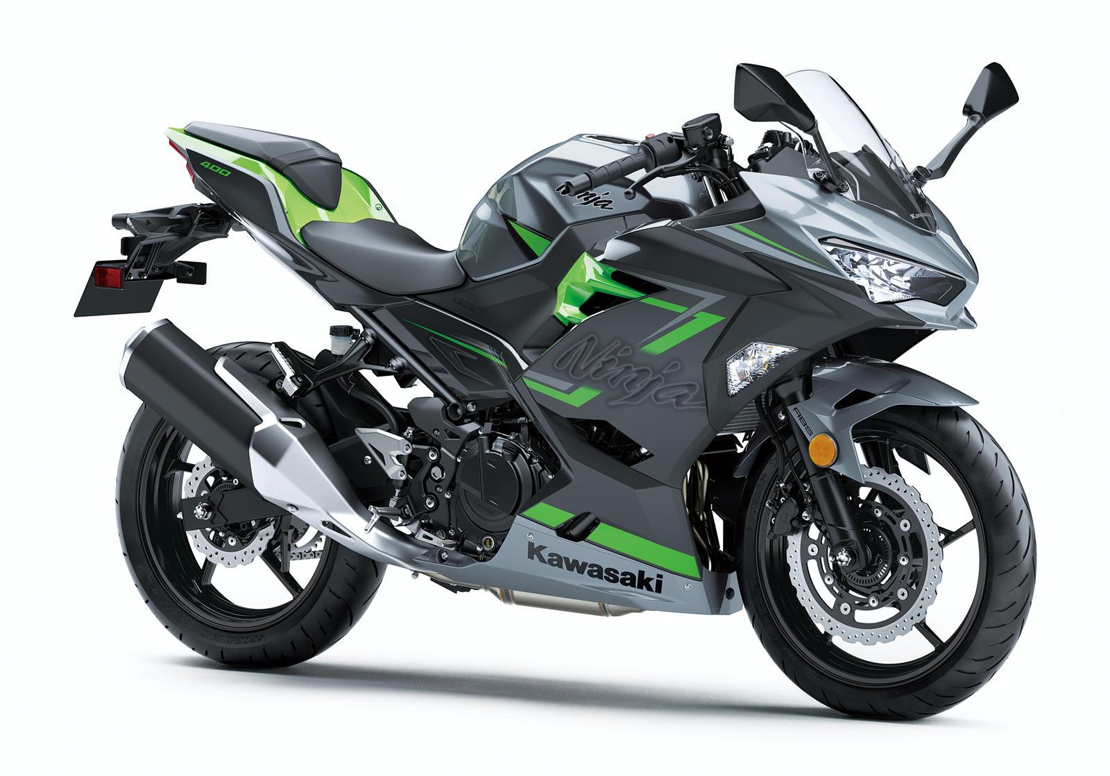 Kawasaki Ninja 400 front