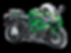 motocykl sport tourer Kawasaki Z1000SX salon Kawasaki