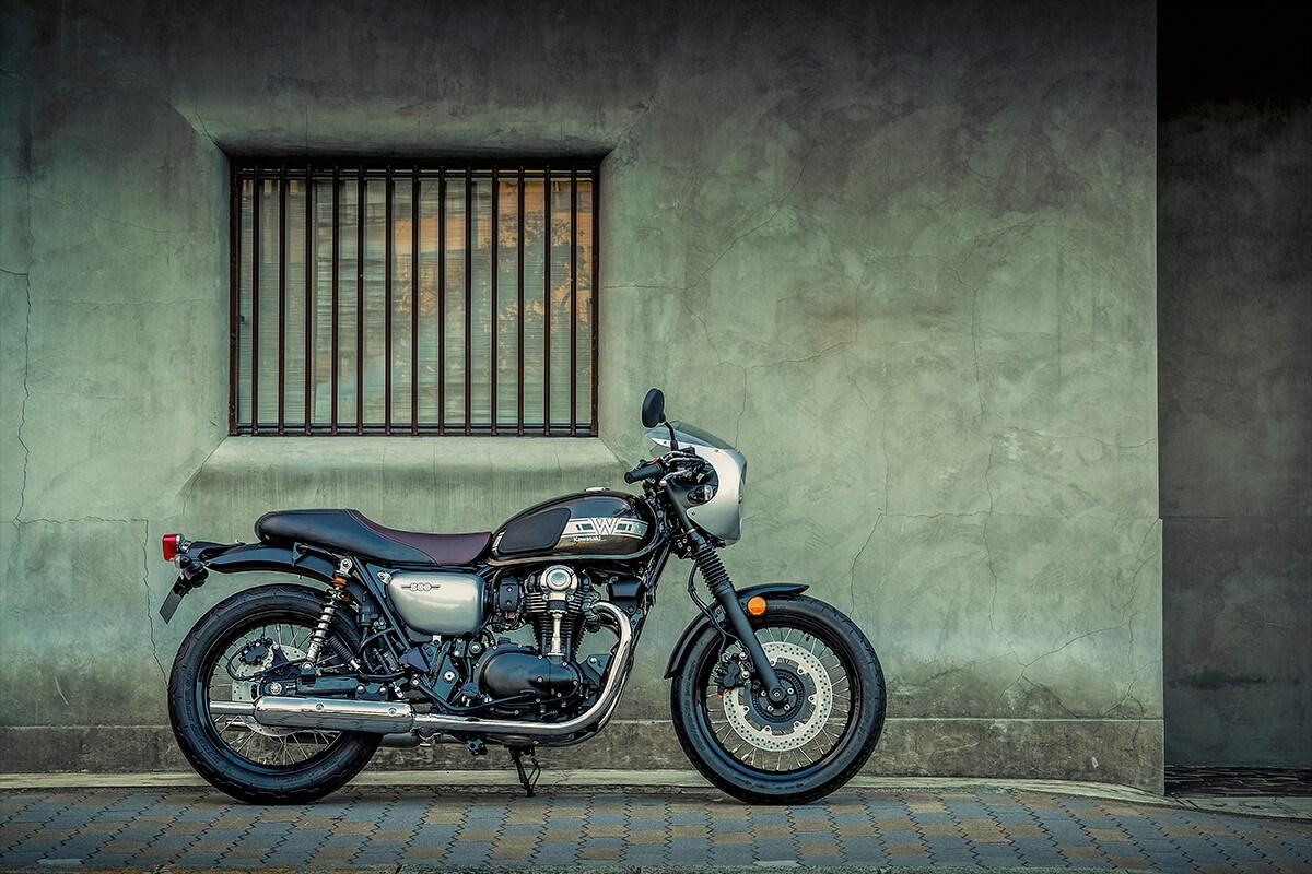 Kawasaki W800 Cafe ikona stylu