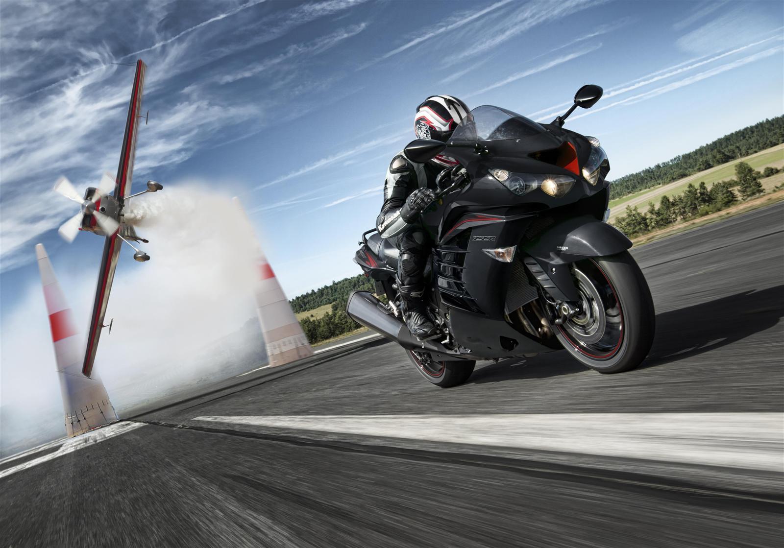 Kawasaki ZZR1400 potężna moc