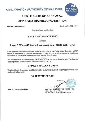 Approval for ATO-FTO
