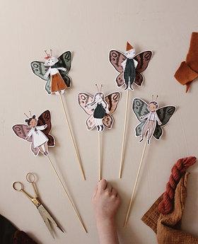 Paper Fairy Toy Printable