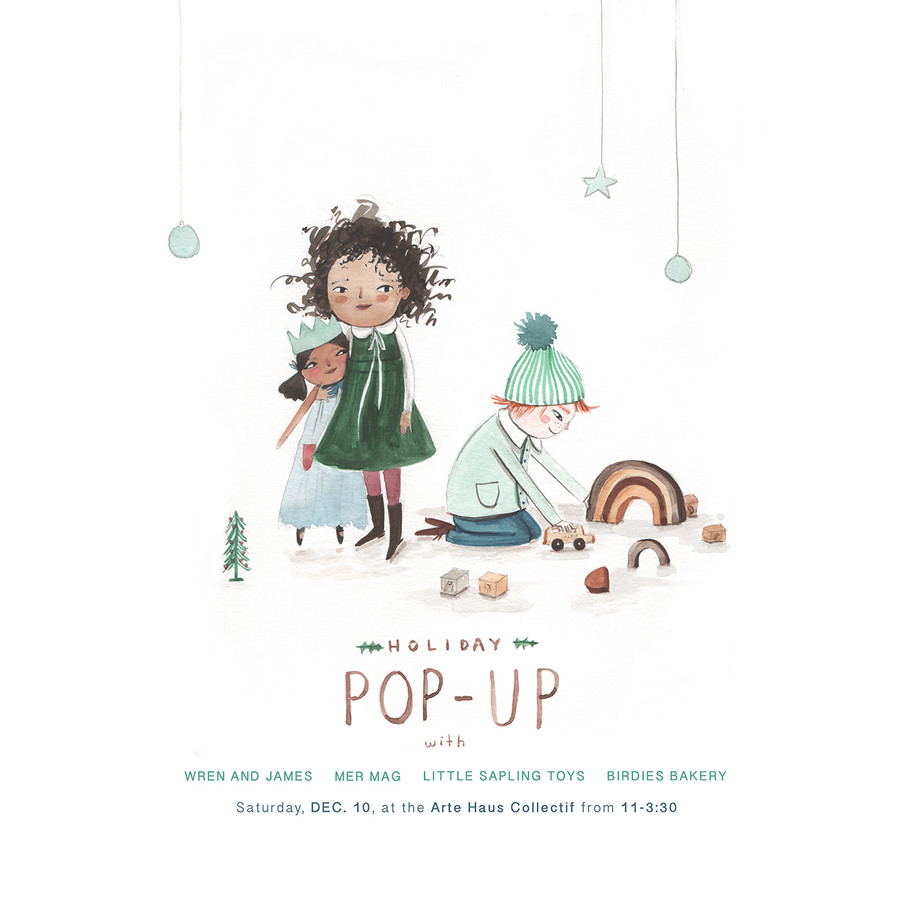 Thanks for coming out to the Christmas Pop-Up!