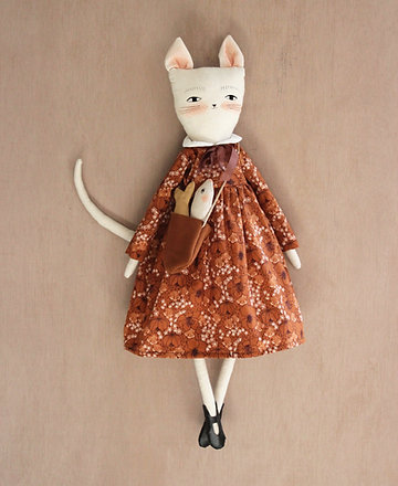 Adelaide Kitty Cat Doll