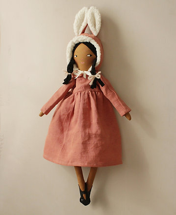 Freesia Bunny Doll - Midi Size