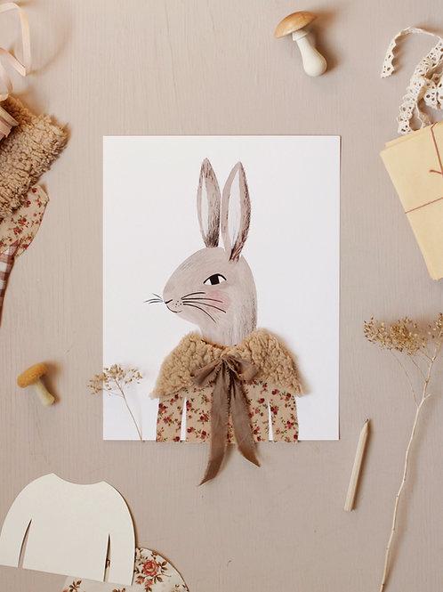 Dress Up Mrs. and Mr. Rabbit Printable