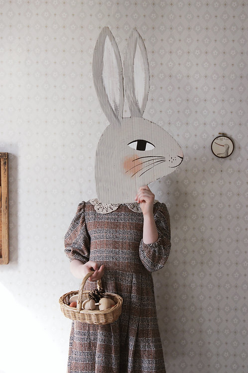 Rabbit Head Template