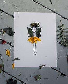 Nature Fairy Paper Dolls