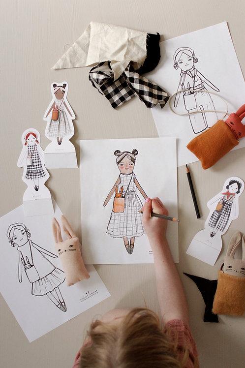 Minimom x MerMag Doll Printables