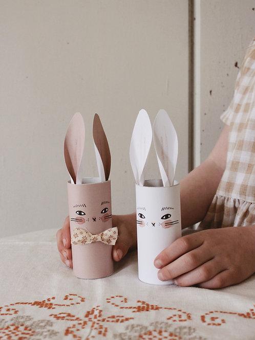Rabbit Tube Printable