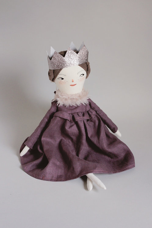 Prue the Princess - small doll size