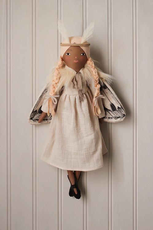 Whisper Moth Art Doll