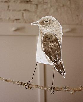 Paper Bird Printable