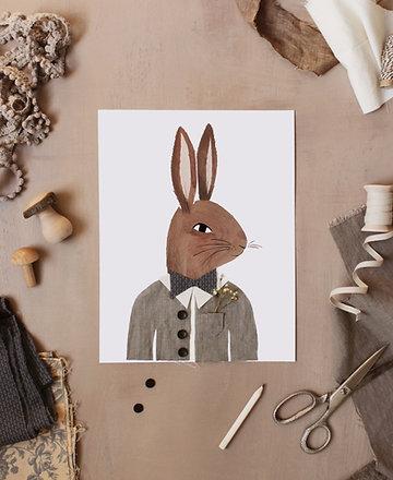 Dress Up Mr. and Mrs. Rabbit Printable