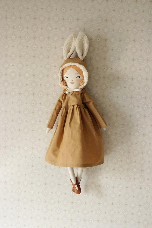 Cleo Bunny Doll - Midi Size