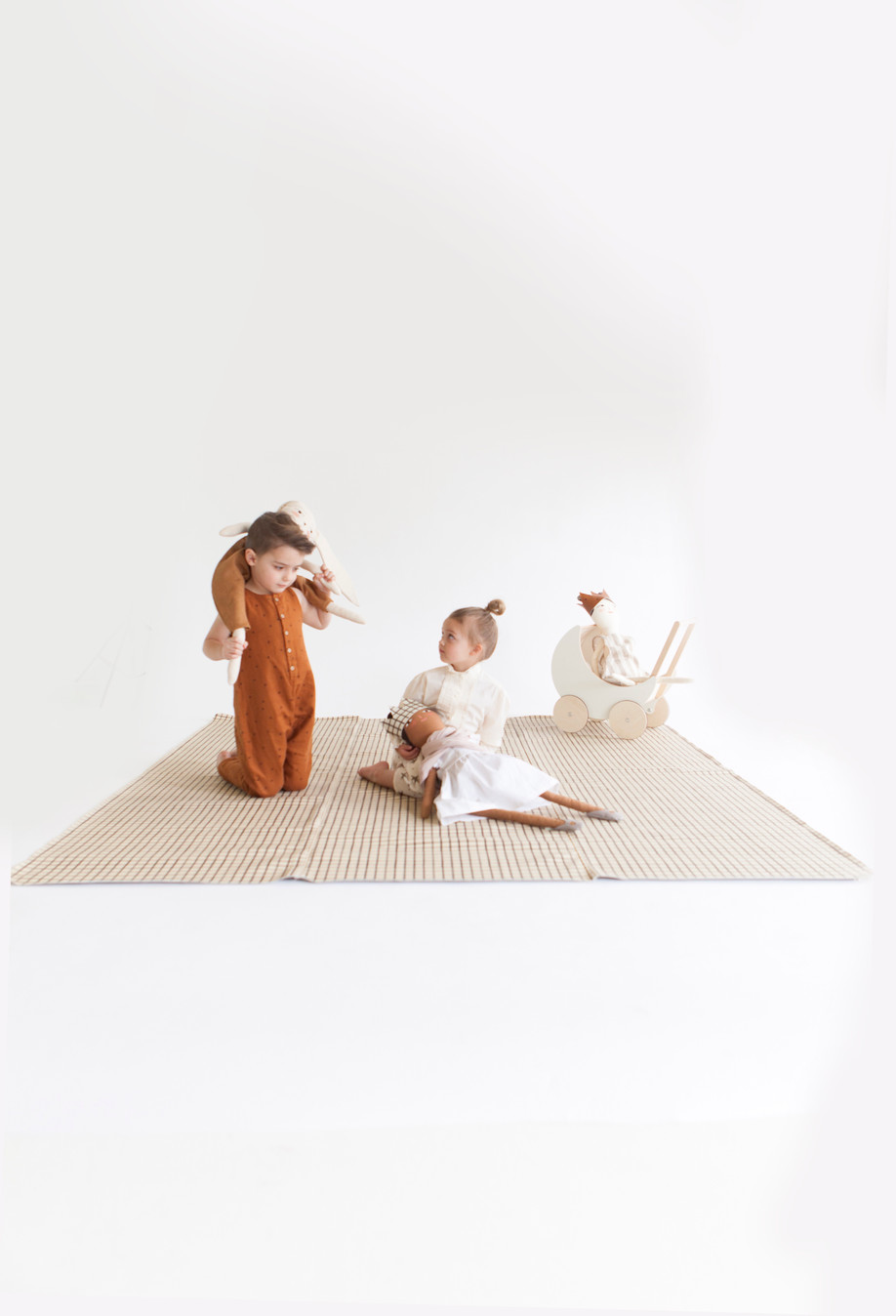 Merrilee Liddiard Dolls for the Gathre/Rylee + Cru collab