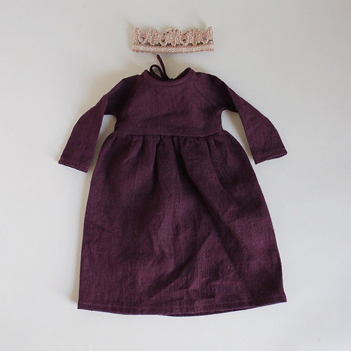 Midi Doll Size Nellie Quats Hopscotch Dress and Crown